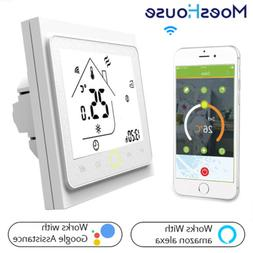 WiFi Smart Thermostat Controller for Water Gas Boiler Works
