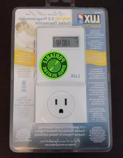 LUX PRODUCTS WIN100 5-2 Programmable Outlet Thermostat-5/2 P