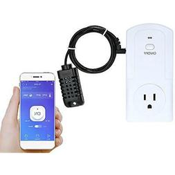 Wireless APP Remote Control Power Outlet Smart Thermostat Hu