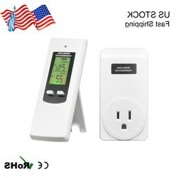 Wireless Temperature Controller Electric Outlet Thermostat w
