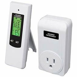 Wireless Temperature Controller, Electric Outlet Thermostat