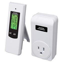 Wireless Temperature Controller,Electric Outlet Thermostat w