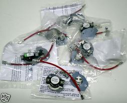 WP8166 279816 6 PAK Whirlpool Dryer Thermostat Thermal Fuse