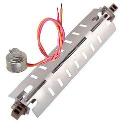 GE HOTPOINT KENMORE DEFROST HEATER AND THERMOSTAT KIT
